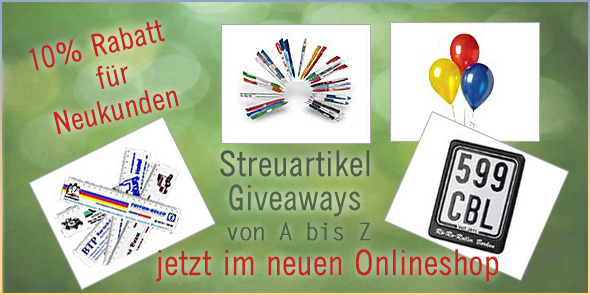 Streuartikel Giveaways